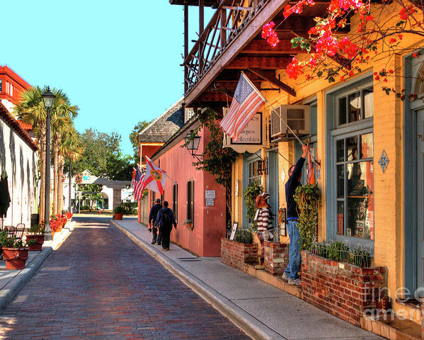 Aviles St.-Oldest Street in America