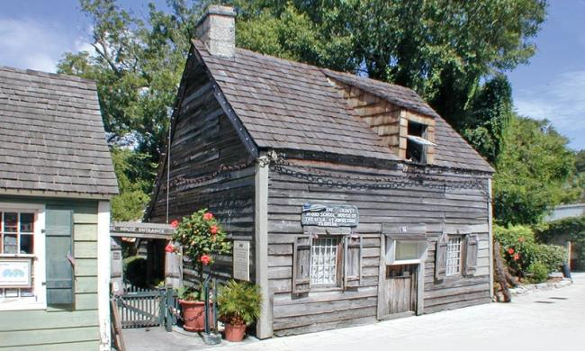 St. George Street-Oldest Wooden Schoolhouse
